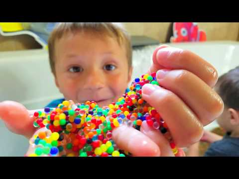 Chase's Corner: ORBEEZ BATH SURPRISE! CAPTAIN UNDERPANTS RING 😅HYPNOTIZED MOMMY  (#51|DOH MUCH FUN) (видео)