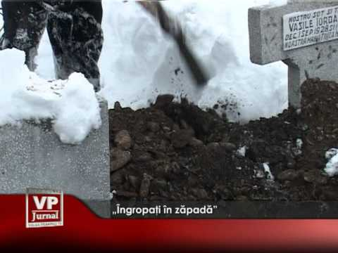 """""""Îngropaţi în zăpadă"""""""