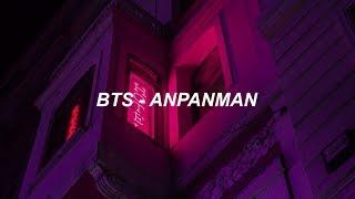 Video BTS (방탄소년단) 'Anpanman' Easy Lyrics MP3, 3GP, MP4, WEBM, AVI, FLV Agustus 2018