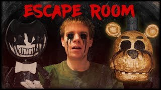 BENDY'S NIGHTMARE ESCAPE ROOM!