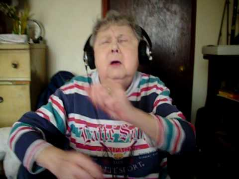 Funniest Grandma trying to rap