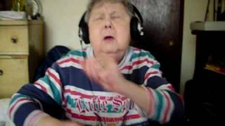 Funny Grandma Trying To Rap