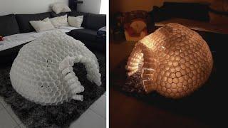 comment construire un igloo avec des verres en plastiques