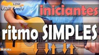 Download Lagu Aula de Violão BATIDA  Simples para Iniciantes (lista de musicas na descrição) Mp3