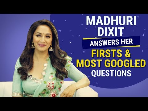 Madhuri Dixit answers her firsts and most googled questions | Pinkvilla | Bollywood | Fashion