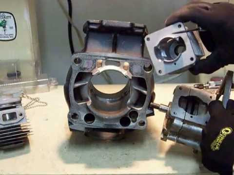 2 stroke transfer ports information, along with porting and polishing tips