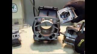 9. 2 stroke transfer ports information, along with porting and polishing tips
