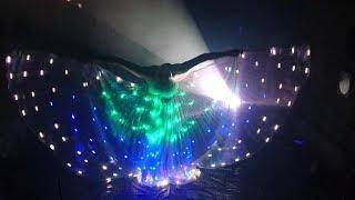 LED Lichtshow DELiGHTFUL mit S.W.A.P. Sabrina Wolfram ART PROJECT aus Heidelberg