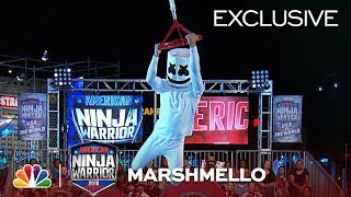 Video Marshmello Runs Stage 1 at the Las Vegas National Finals - American Ninja Warrior 2018 (Exclusive) MP3, 3GP, MP4, WEBM, AVI, FLV Juli 2019