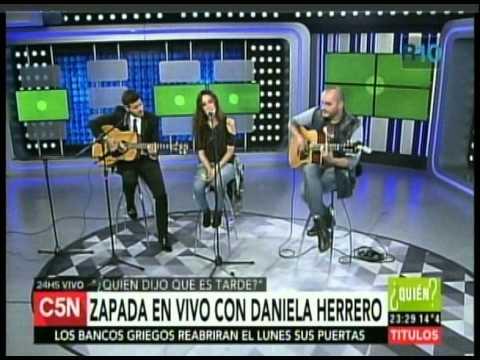 C5N QUIEN DIJO QUE ES TARDE MINI RECITAL DE DANIELA HERRERO3