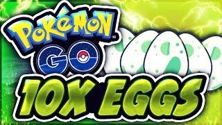 HATCHING 10x+ EGGS! | POKEMON GO!