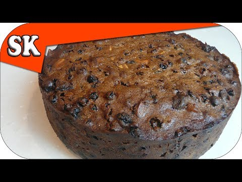 CHRISTMAS CAKE RECIPE – Rich Fruit Cake for the Holidays