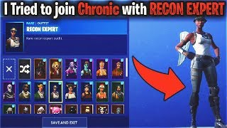 I Tried to join CLANS with RECON EXPERT... (Chronic)