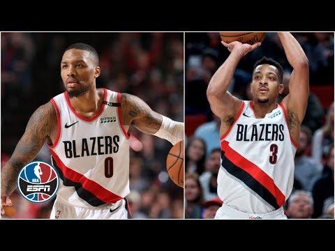 Video: CJ McCollum, Damian Lillard go off in Trail Blazers' win vs. Jazz   NBA Highlights