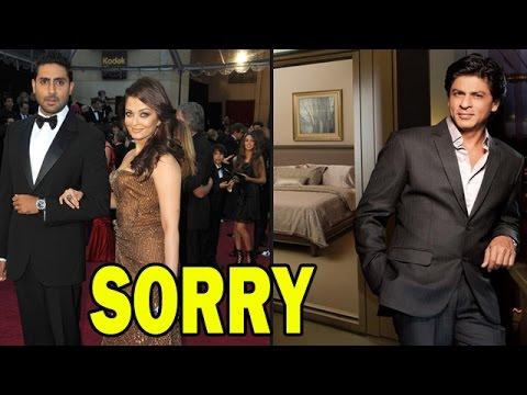 Aishwarya Rai Bachchan and Abhishek Bachchan visit Mannat to apologize to Shahrukh Khan! - EXCLUSIVE