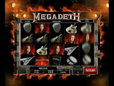 Megadeth Slot - Leander Games
