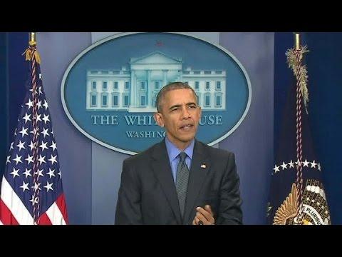باراك أوباما مختتما مؤتمره الصحفي: على الذهاب لمشاهدة Star Wars
