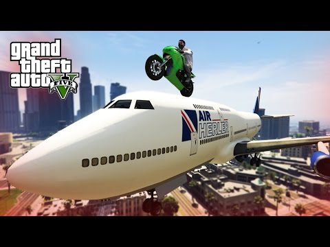gta 5 - best stunts & fails compilation!