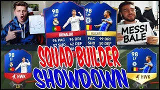 98 RB RONALDO vs. 98 HAZARD SQUAD BUILDER SHOWDOWN!  - FIFA 17 ULTIMATE TEAM (DEUTSCH)►► FIFA 17 COINS fürs TOTS (100% SICHER & in 2 MIN) : https://goo.gl/Qbg4Y1 (+ 8% Rabatt : FIFAGAMING) ►► FIFA 17 Accounts mit FIFA COINS : https://goo.gl/Qbg4Y1► MEIN SHOP : https://www.shirt-tube.de/youtuber/fifagaming/►► MEINE SPONSOREN :✖️ FIFA COINS,FIFA POINTS,XBOX/PSN Cards bei IGVUALT : https://goo.gl/Qbg4Y1✖️ FIFA COINS,FIFA POINTS, GAMEKEYS, XBOX/PSN Cards bei MMOGA : http://mmo.ga/u2TN►► Meinen BRUDER (Claas) ABONNIEREN : https://goo.gl/rT2mda►► FOLGT MIR HIER (um nix zu verpassen) :✘✘✘ MEINEN 2. KANAL ABONNIEREN!! : https://goo.gl/fNQ4I8 ✘ INSTAGRAM : https://goo.gl/tFHdQr✘ Twitch Livestreams : https://goo.gl/EBkWa6✘ Facebook: http://on.fb.me/1R9BJom★ BUSINESS EMAIL : tiradorlp@googlemail.com✘ Mein Designer : https://goo.gl/O1OJg9●▬▬▬▬▬▬▬▬▬▬▬▬▬▬▬▬▬▬●Falls ihr mich unterstützen wollt, kauft BITTE über MEINE LINKS in der Videobeschreibung.Es kostet euch keinen Cent mehr & ihr unterstützt MICH!! DANKE