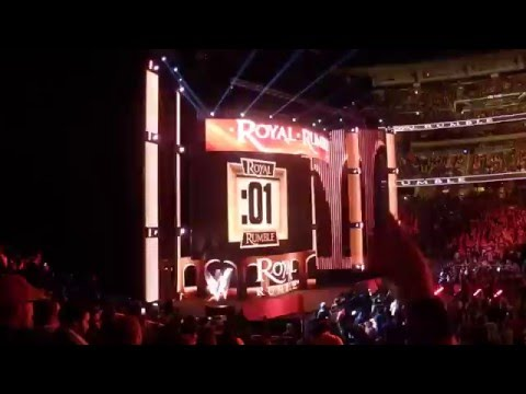 Brock Lesnar Enters The 2016 Royal Rumble! My View
