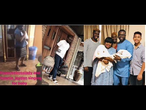 Funke Akindele Dancing with her Twins Emerged