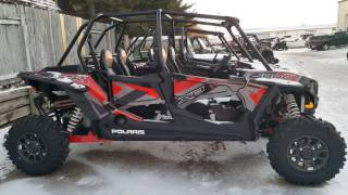 8. 2017 Polaris RZR XP 4 1000 EPS