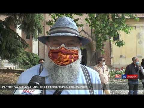 PARTITE IVA IN PIAZZA: «NON CE LA FACCIAMO PIU'»   30/05/2020