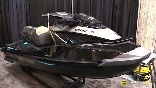 7. 2016 Sea Doo GTX 155 Jet Ski - Walkaround - 2016 Montreal Boat Show