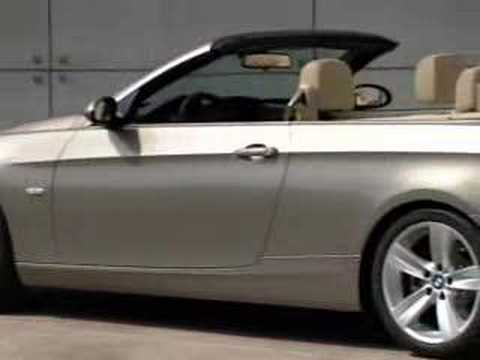 BMW 335i Cabriolet (2007)  First video Ive seen with the new BMW convertible