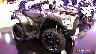3. 2015 Kymco MXU 700i EPS Recreational Vehicle - Walkaround - 2014 EICMA Milan Motorcycle Exhibition