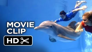 Nonton Dolphin Tale 2 Movie CLIP - Bethany and Sawyer Swim With Winter (2014) - Morgan Freeman Drama HD Film Subtitle Indonesia Streaming Movie Download