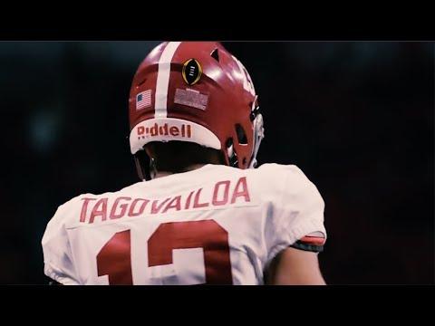Tua Tagovailoa    Official Alabama Highlights ᴴᴰ