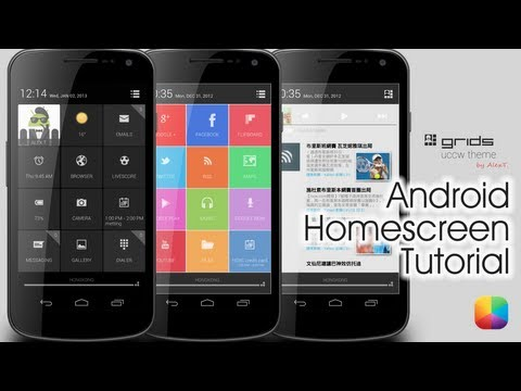Video of UCCW Theme - Grids