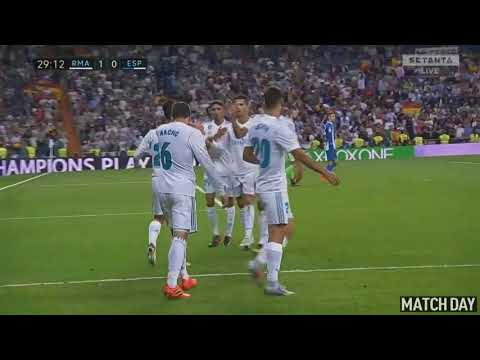 Real Madrid Vs Espanyol 2-0 - Highlights & Goals - 01 October 2017