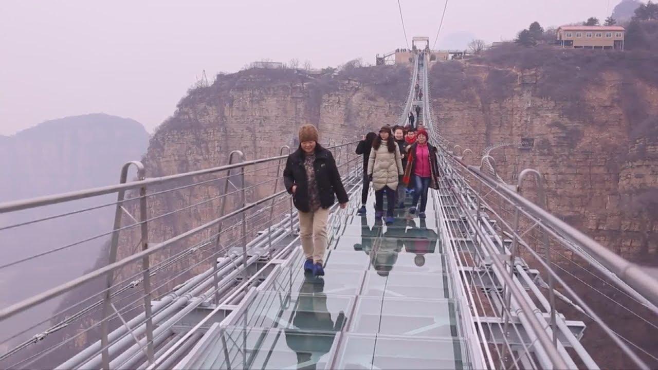 Κίνα: Η μεγαλύτερη γυάλινη γέφυρα του κόσμου