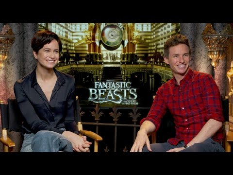 "Redmayne, Ezra Miller, Farrell, Waterston Interview for ""Fantastic Beasts and Where to Find Them"" And Movie Review"