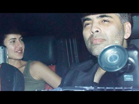 Snapped: Ranbir Kapoor And Katrina Kaif Party With