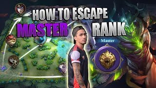 Video HOW TO ESCAPE MASTER RANK -1000 DIAMONDS GIVEAWAY - MOBILE LEGENDS - COACHING - GAMEPLAY - GUIDE MP3, 3GP, MP4, WEBM, AVI, FLV April 2019