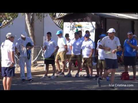 Comienzo de la Liga Andaluza y Copa Federación de Petanca en Isla Cristina