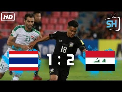 Thailand vs Iraq 1-2 World Cup Qualifiers All Goals and Highlights