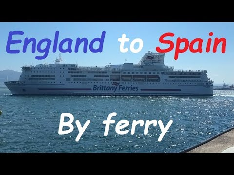 England To Spain Ferry Trip On Ms Pont Aven
