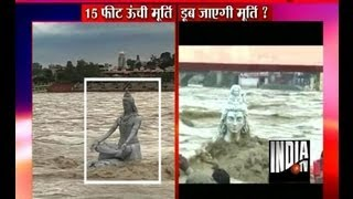 Rishikesh India  city photo : Lord Shiva Idol Washed Away in Rishikesh - India TV