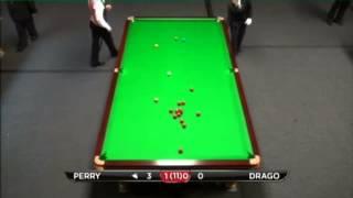 Joe Perry - Tony Drago (Frame 2) Snooker International Championship Qualifying 2013 - Round 1