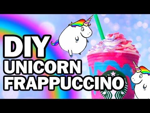 DIY Unicorn Frappuccino, Corinne VS Starbucks #3 (видео)
