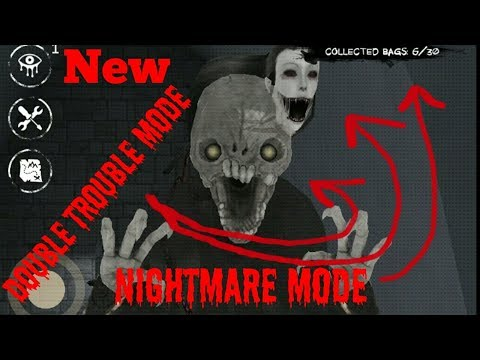 Eyes The Horror Game:Double Trouble Mode(Nightmare Mode)Full Gameplay[Mansion Map] (видео)