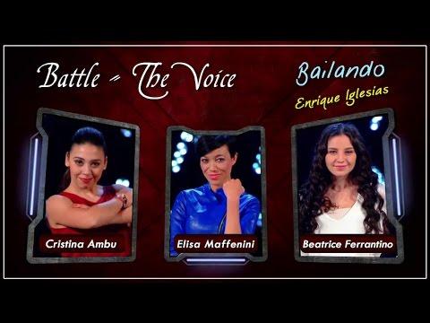 Video Beatrice Ferrantino Elisa Maffenini Cristina Ambu - Battle The Voice of Italy 2016   Bailando download in MP3, 3GP, MP4, WEBM, AVI, FLV January 2017
