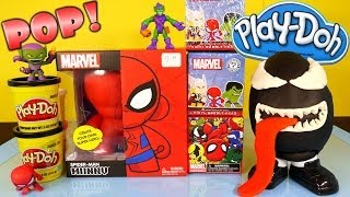 Video Play Doh Venom Surprise Egg Kidrobot Giant Spiderman Superhero Toy Marvel Mystery Mini Toys MP3, 3GP, MP4, WEBM, AVI, FLV Oktober 2017