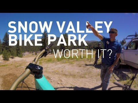 Snow Valley Bike Park. The newest MTB Park in Southern California. But is it worth the trip?