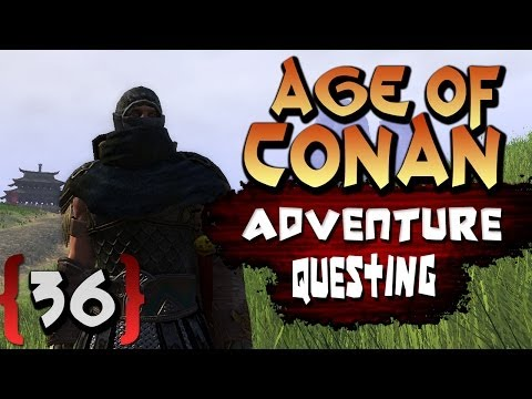 Age of Conan Unchained Gameplay : Dark Templar Questing and Future Episodes