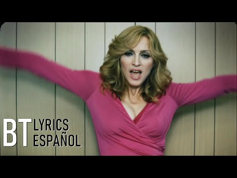 Madonna - Hung Up (Lyrics + Español) Video Official